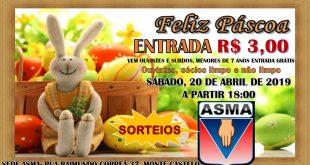 Participe neste sábado dia 20 de abril – Feliz Páscoa